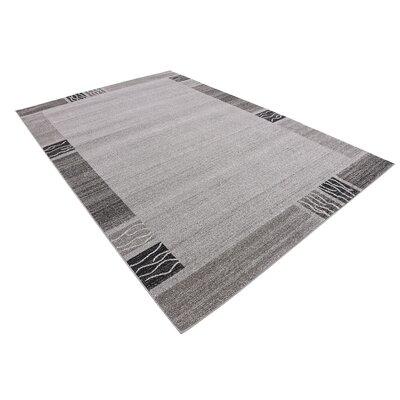Britton Gray Area Rug Rug Size: 6 x 9