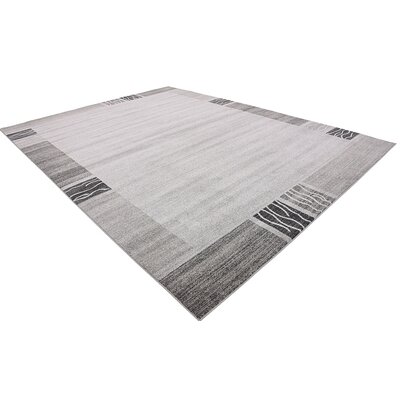 Britton Gray Area Rug Rug Size: 10 x 13
