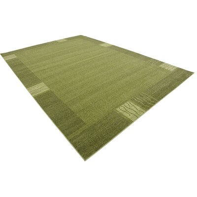 Britton Green Area Rug Rug Size: 8 x 114