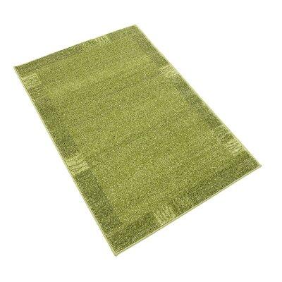 Britton Green Area Rug Rug Size: 22 x 3