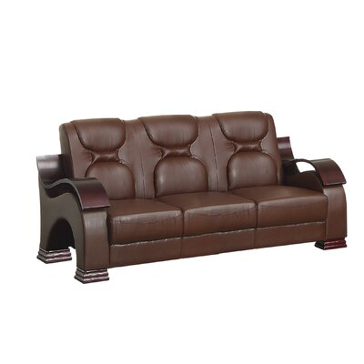 Caran Sofa Upholstery: Brown