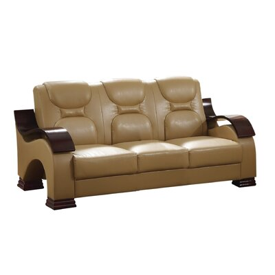 Caran Sofa Color: Tan