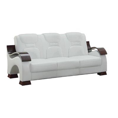 Caran Sofa Upholstery: White