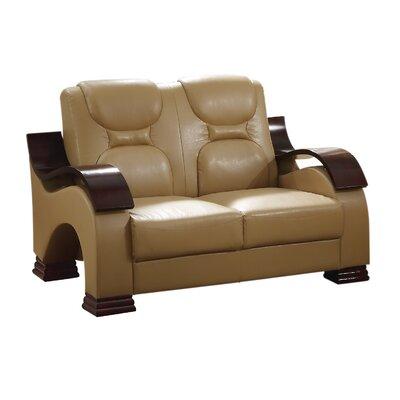 Mcnulty Loveseat Upholstery: Tan