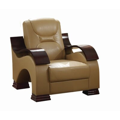 Caran Armchair Color: Tan