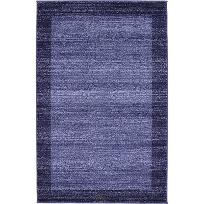 Christi Blue Area Rug Rug Size: Rectangle 5 x 8