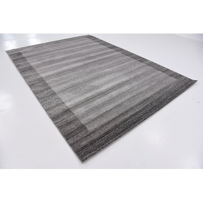Croslin Light Gray Area Rug Rug Size: Square 8