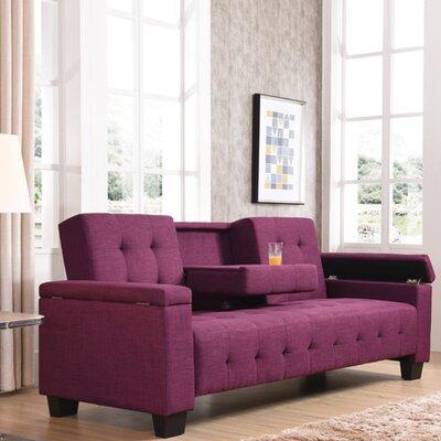 Derek Sleeper Sofa Upholstery: Berry