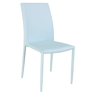 Farwell Side Chair (Set of 4) Side Chair Upholstery: Blue
