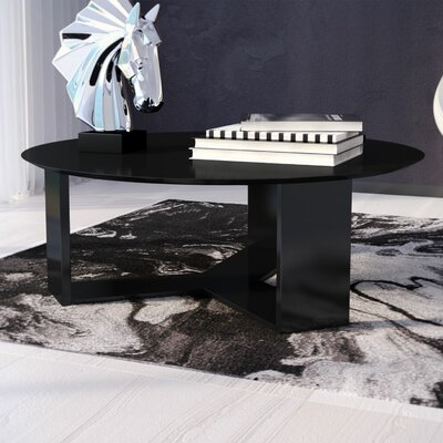 Emiliah Coffee Table Finish: Black Gloss