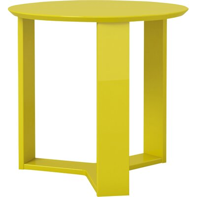 Gabriel Round End Table Finish: Yellow
