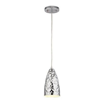 Alguno 1-Light Mini Pendant Finish: Polished Chrome