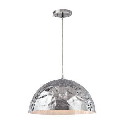 Alguno 1-Light Bowl Pendant Finish: Polished Chrome