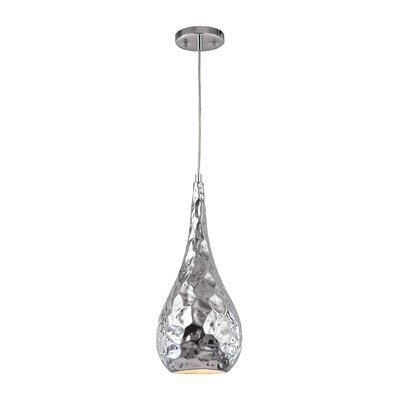 Aaden 1-Light Mini Pendant Finish: Polished Chrome