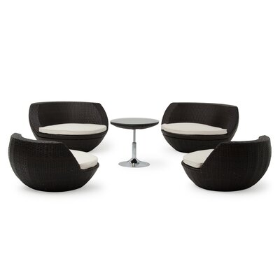Aideen 5 Piece Dining Set