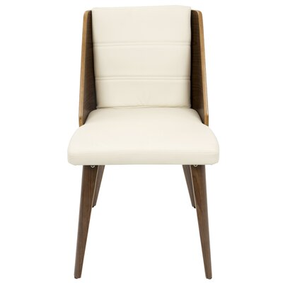 Melrose Side Chair Upholstery: Cream