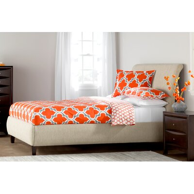 Gabby Upholstered Sleigh Bed Size: King