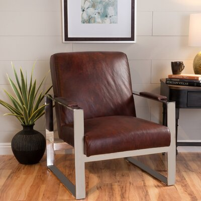 Far West Leather Armchair