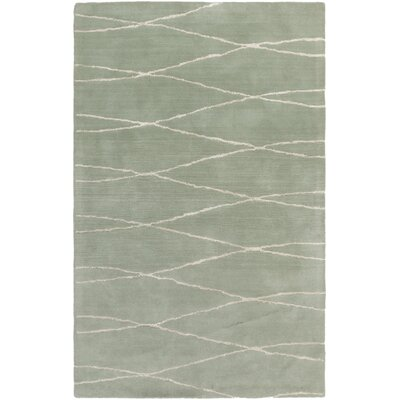 Alysha Moss Area Rug Rug Size: Rectangle 5 x 8