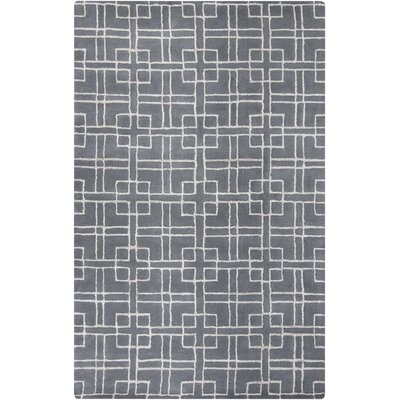 Alysha Gray Geometric Area Rug Rug Size: Rectangle 5' x 8'