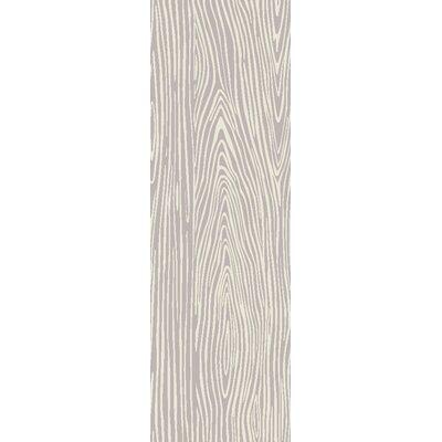 Alysha Ivory Area Rug Rug Size: Runner 26 x 8