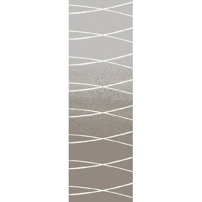 Alysha Gray Area Rug Rug Size: Runner 26 x 8