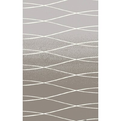 Alysha Gray Area Rug Rug Size: Rectangle 8' x 11'