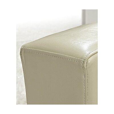 Mojokerto European 3 Piece Leather Living Room Set Upholstery: Beige