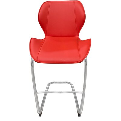 Kenia 27 Bar Stool Upholstery: Red