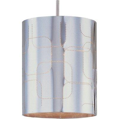 Echo Sliver Plate 1-Light RapidJack Pendant