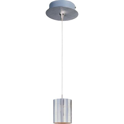 Straton Silver Plate 1-Light RapidJack Pendant and Canopy