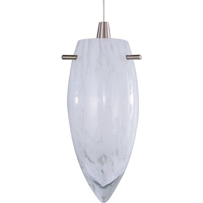 Echo White Cirrus 1-Light RapidJack Pendant