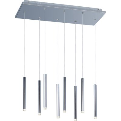 Callowhill 8 LED Integrated Bulb Cascade Pendant