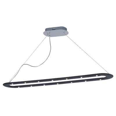Poseidon 18 LED Integrated Bulb Kitchen Island Pendant