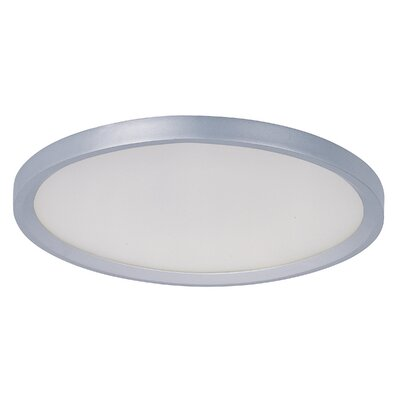 Cybele 1-Light Flush Mount Size: 2.25 H x 18.71 W x 18.71 D