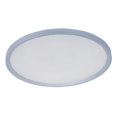 Cybele 1-Light Flush Mount Size: 2.5 H x 19.5 W x 19.5 D
