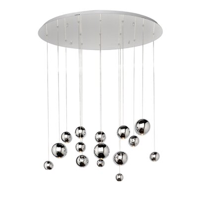 Meads 15-Light Cascade Pendant