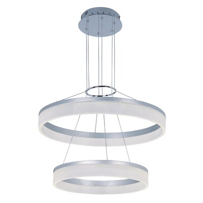 Cassiopeia 2-Tier LED Pendant