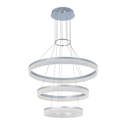 Cassiopeia 3-Tier LED Pendant
