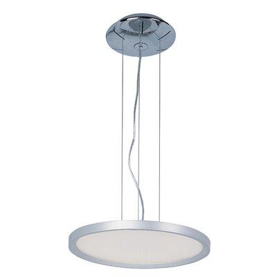 Cybele 1 LED Integrated Bulb Geometric Pendant Size: 1.5 H x 16 W x 16 D