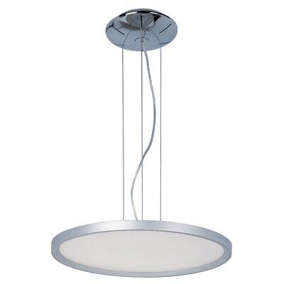 Cybele 1 LED Integrated Bulb Geometric Pendant Size: 1.5 H x 19.75 W x 19.75 D