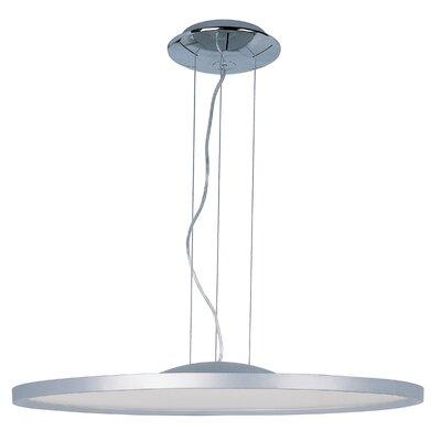 Cybele 1 LED Integrated Bulb Geometric Pendant Size: 1.5 H x 28.35 W x 28.35 D