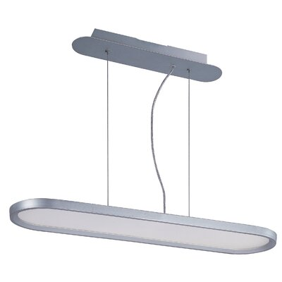 Cybele 1 LED Integrated Bulb Kitchen Island Pendant Size: 1.5 H x 31.75 W