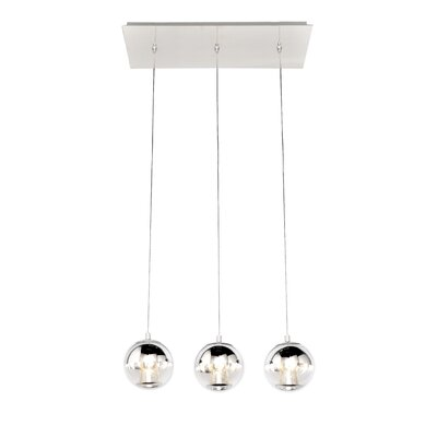 Betria 3 LED Integrated Bulb Kitchen Island Pendant