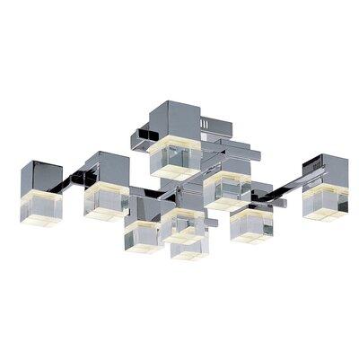 Bustleton LED 9-Light Flush Mount
