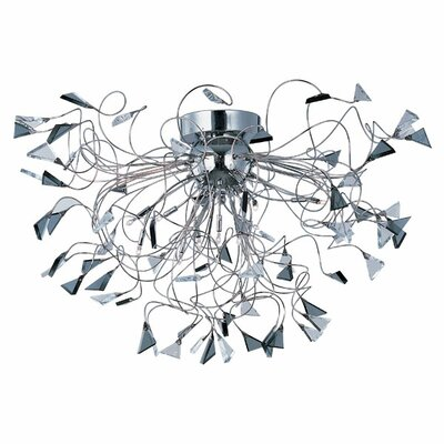 Annalise 12-Light Flush Mount
