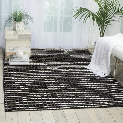 Alcanza Black Area Rug Rug Size: Rectangle 311 x 53