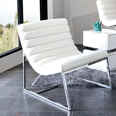 Olney Lounge Chair Upholstery: White