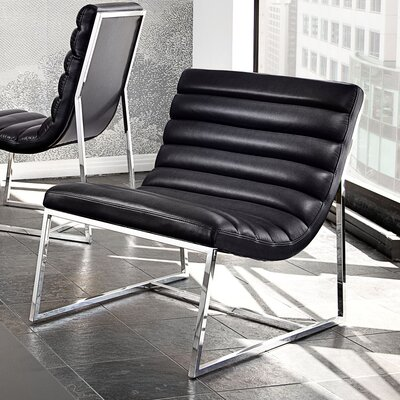 Olney Lounge Chair Upholstery: Black