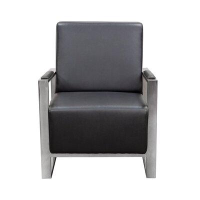 Olney Arm Chair Color: Black
